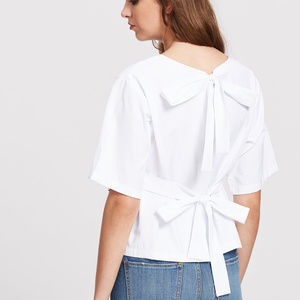 Tops - Bow Tie Back Top